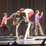 Négy őrült zseni a futópadon: a közönség viharos tapssal honorálta a fergeteges mozdulatokat