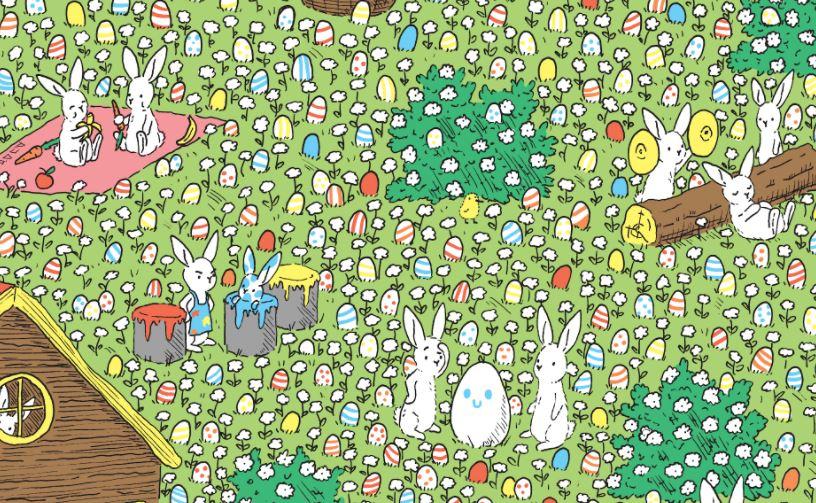 Ezen a feladványon majdnem mindenki elvérzik: megtalálod az egyetlen TELJESEN fehér tojást a képen?
