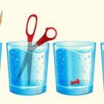 Csak józan paraszti ész kell hozzá, mégis kevesen tudják a helyes választ: melyik pohárban van a legtöbb víz?