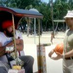 Zseniális friss fotóval játszotta újra Terence Hill karrierje egyik legviccesebb pillanatát, a híres fagyis jelenetet