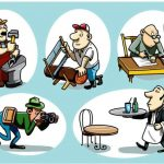 Ezt tényleg csak a legügyesebbek tudják: az 5 férfi közül melyik az az egy, aki balkezes?