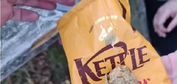 Kinyitotta a chipset, de burgonyaszirmok helyett egészen mást talált benne